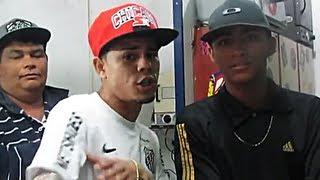 MC Lon e MC Erick Chapa Quente Medley no stúdio Glauco Tattoo