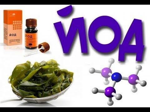 9 признаков недостатка йода в организме.