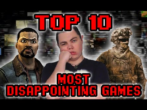 Top 10 Most Disappointing Games - Square Eyed Jak #1