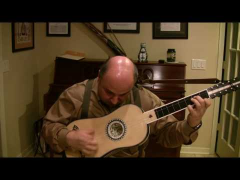 Chaconne in C Major by Corbetta for Baroque Guitar
