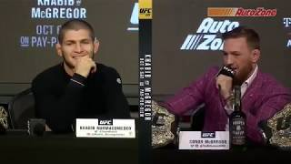 UFC 229: Khabib vs McGregor Press Conference Highlights