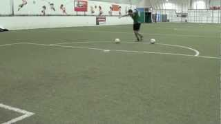 Soccer Shooting Drills - 3 Drills To Improve Soccer Shooting Technique