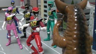 Power Rangers Dino Charge Fight Toys 파워레인저 다이노포스 대결 장난감