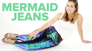 I Wore Mermaid Jeans For A Day