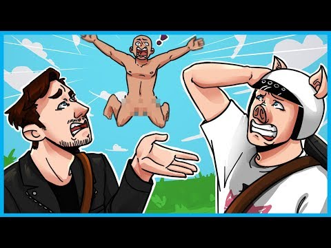 WHY IS THERE A NAKED MAN FLOATING IN THE SKY?!?! - H1Z1 Funny Moments & Fails! (WTF Glitch)