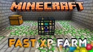 Minecraft Fast XP Farm Mob Spawner