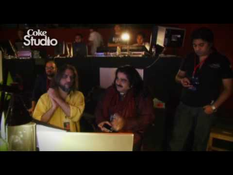Alif Allah, Arif Lohar & Meesha Shafi - Bts, Coke Studio Pakistan, Season 3 video