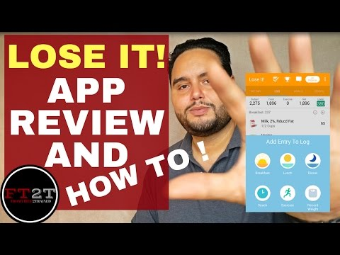 LoseIt App Results,  Review & Quick Tutorial 2016