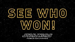 See Who Won Three Epic Star Wars Experiences!