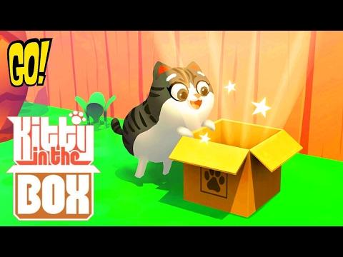 Kitty in the Box 2 Китти в Коробке играем вместе с Best Kids Apps Мульт игра на Русском Языке