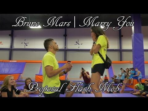 Bruno Mars | Marry You Proposal Flash Mob!