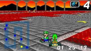 Super Mario Kart clone in progress