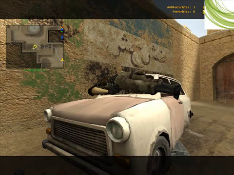 Muertes y Fotos graciosas del Counter Strike Source por Loquendo