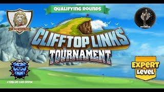 Golf Clash - Clifftop Links Tournament Expert Qualifying Round
