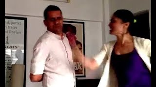 Old Viral Video: Subhash Kapoor Slapped By Geetika Tyagi In Front Of His Wife | Me Too  from Pop Diaries