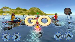 Real Water Surfer Bike Racing - Floating Drive