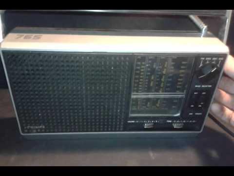 antigua radio philips,mod 765