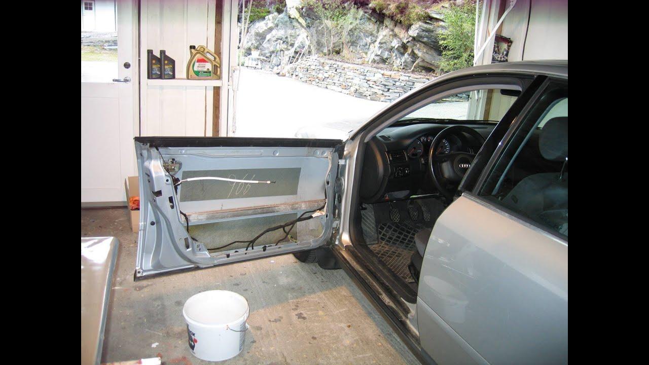 Audi A6 4b C5 Window Guide Regulator Repair 720p Hd
