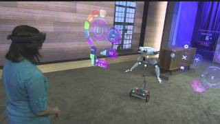 Microsoft Hololens Robot Demo #Build2015 #B15