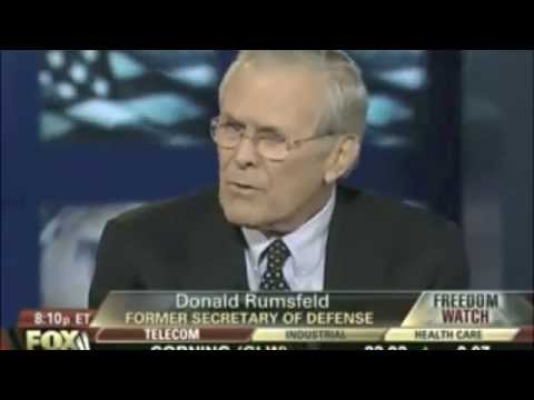 Judge Napolitano dumbfounded by Donald Rumsfeld