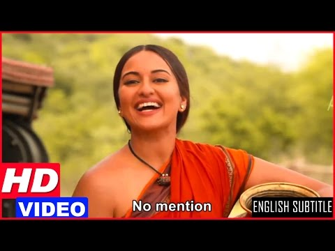 Lingaa Tamil Movie Scenes HD | Sonakshi Sinha Intro Scene | Rajinikanth helps Sonakshi