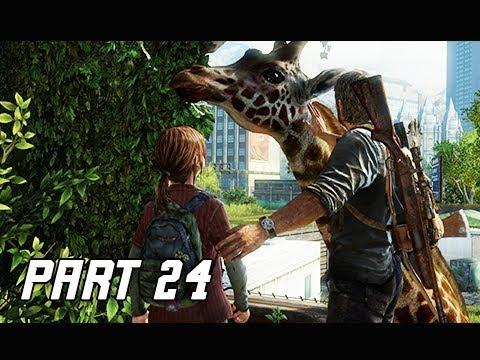 The Last of Us Walkthrough Part 24 - GIRAFFE (PS4 Pro 4K Remaster Let's Play)
