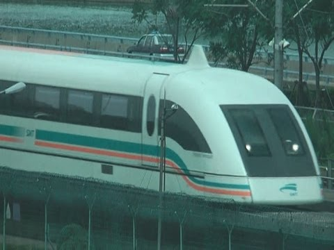Fastest Train (Without Wheels) Maglev Train in China