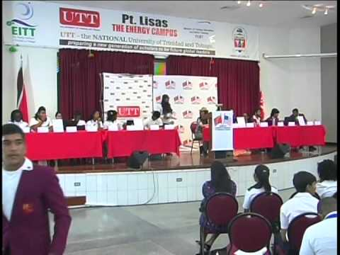 AMCHAM T&T National Youth Productivity Forum Central Round 2014. Part 1