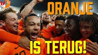 Mission Impossible Geslaagd: Krankzinnig dat Oranje Door is in de Nations League!