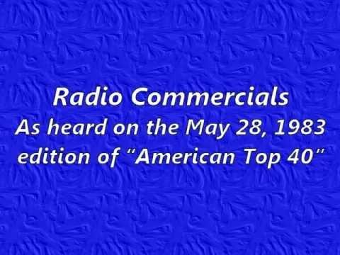 Radio Commercials May 28, 1983 Set #2 video
