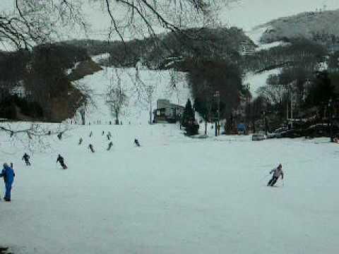 ★土曜日の蔵王温泉スキー場(上の台ゲレンデ)