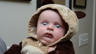 Funny Babies Scared of Toys Compilation (2015)