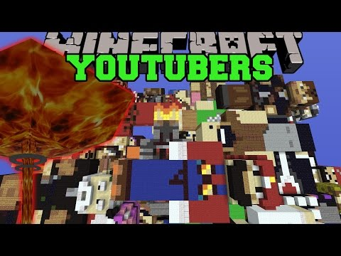 NUCLEAR WEAPONS VS YOUTUBERS - Minecraft Mods Vs Maps (Skydoesminecraft...