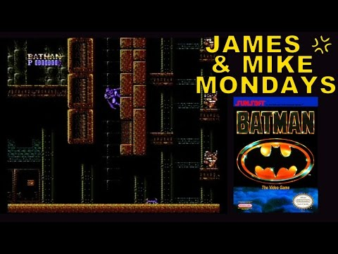 Batman: The Video Game (NES) Part 1 - James & Mike Mondays