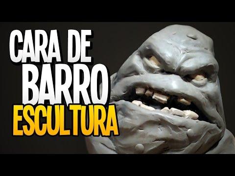 Cara de Barro- Escultura - SpeedArt (Clayface!)