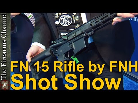 FNH USA FN 15 AR Rifle New and Improved at Shot Show 2015