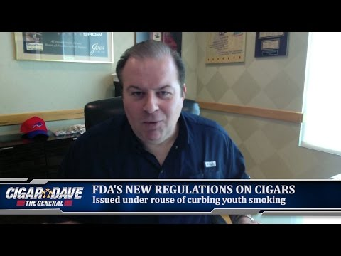 Cigar Dave Reacts to FDA Regulations of Cigars