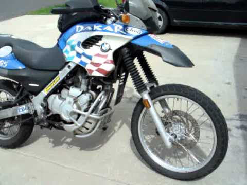 2002 BMW F650GS Dakar Review