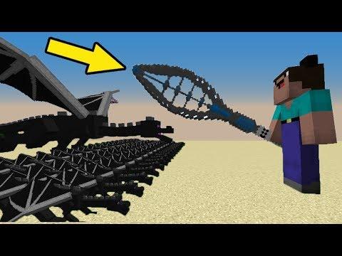 МОД НА НУБ против 1000 КЛОНОВ ДРАКОНОВ - Троллинг НУБА в РАЮ Minecraft Серия 04