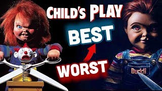 Child's Play Ranked WORST TO BEST