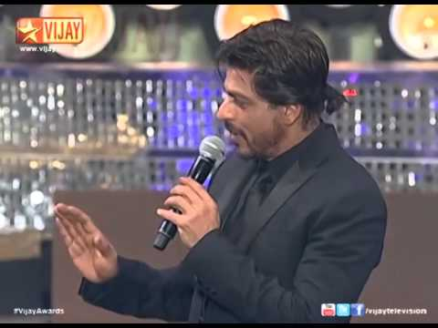 Vijay Awards   Shahrukh Khan's entry thumbnail