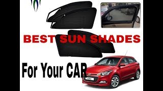 Best Magnetic Zipper Sun Shades for Cars