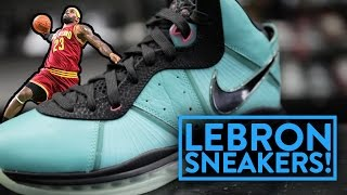 LIFE OF A SNEAKERHEAD 10: Nike LeBrons 1-13 ENTIRE SHOE LINE! | Fung Bros