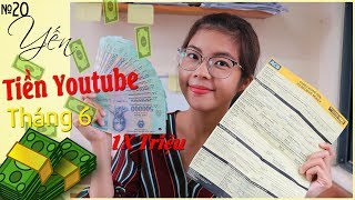 YouTube revenue in June and share how to make youtube
