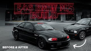 Building a E46 M3 in 10 Minutes! - Before & After Mods - @Vader.M3