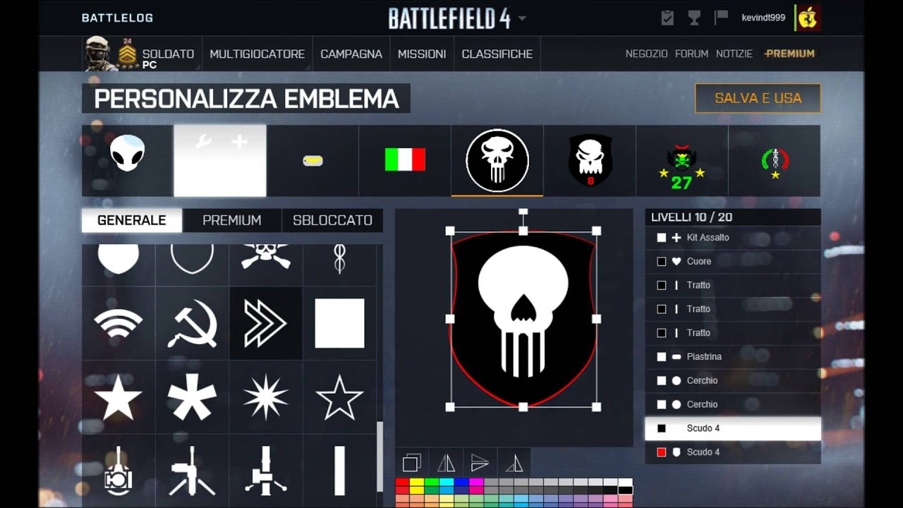 how to get emblems from battlefield 4 to 1