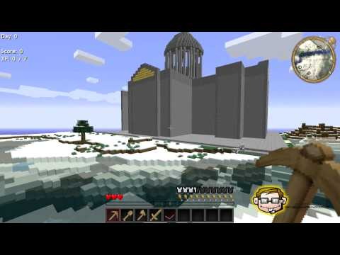 - MOST EPIC STARTING SEED IN MINECRAFT - YogBox -