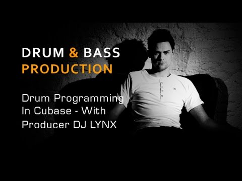 Cubase DnB Drum Programming Tutorial - With DJ Lynx