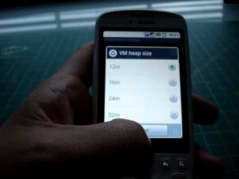 MyTouch 3G with Cyanogen rooted Android 2.2 (Froyo) rom
