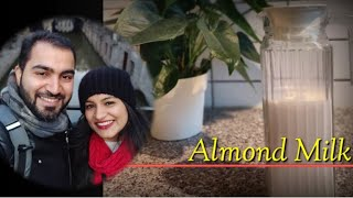 How to make almond milk at home | Lactose Intolerant | Substitute for Milk | Vegan Milk | Keto Milk